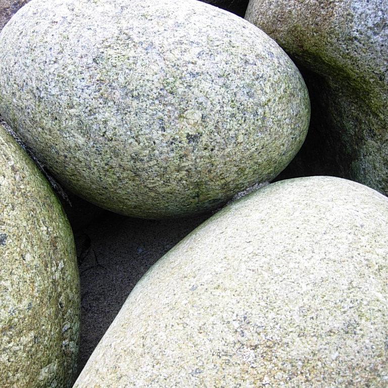 Big round stones